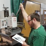 Using the Kobo hot foil printer for signage